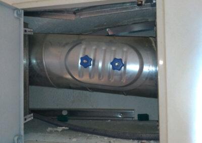 Nettoyage évacuation d'air dans l'industrie