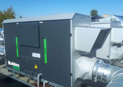Traitement de l'air installation Dombes Hottes nettoyage
